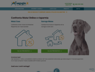 mutui.segugio.it screenshot