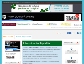 mutuiliquiditaonline.it screenshot