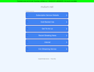 mutum.net screenshot