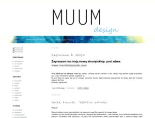 muum-design.blogspot.com screenshot