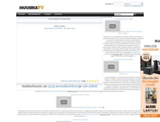 muusika.tv screenshot