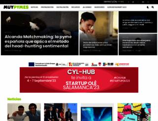 muypymes.com screenshot