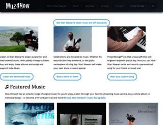 muz4now.com screenshot