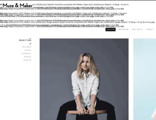 muzeandmaker.com screenshot
