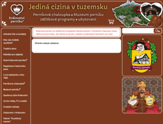 muzeum-perniku.cz screenshot