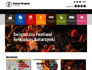 muzeum.torun.pl screenshot