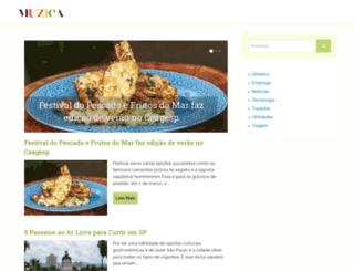 muzica.com.br screenshot