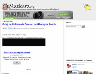 muzicaro.org screenshot