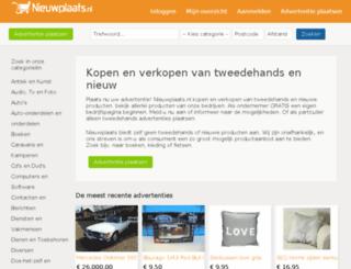 muziekinstrumenten.nieuwplaats.nl screenshot