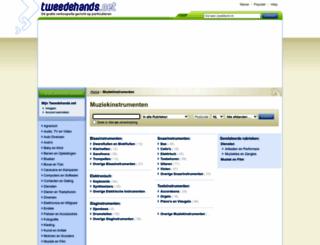 muziekinstrumenten.tweedehands.net screenshot