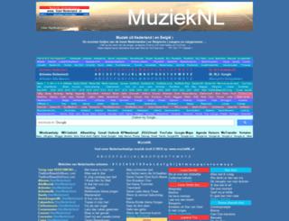 muzieknl.startnederland.nl screenshot