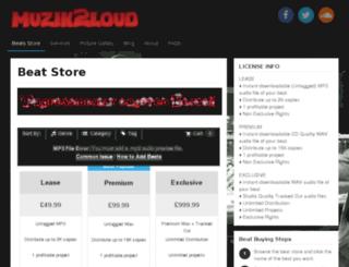 muzik2loud.com screenshot