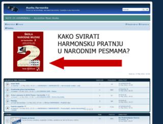 muzikaharmonike.com screenshot
