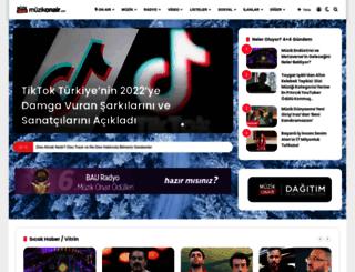 muzikonair.com screenshot