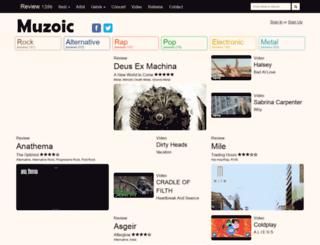 muzoic.net screenshot