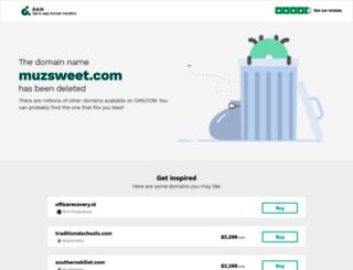 muzsweet.com screenshot