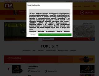 muzyczneradio.com.pl screenshot