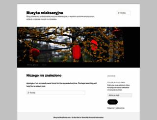 muzykadorelaksu.wordpress.com screenshot