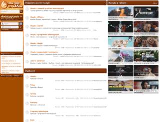muzykazreklam.pl screenshot