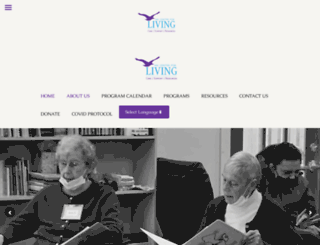 mvcenter4living.org screenshot