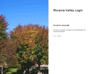 mvconnect.morainevalley.edu screenshot