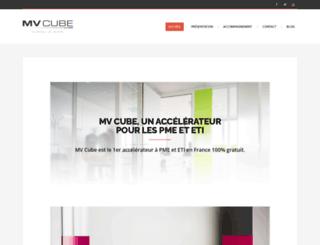 mvcube.fr screenshot