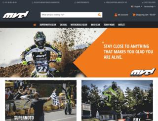 mvdracewear.com screenshot