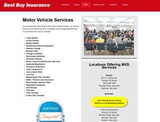 mvdservices.com screenshot
