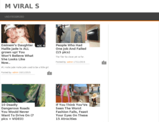 mvirals.com screenshot