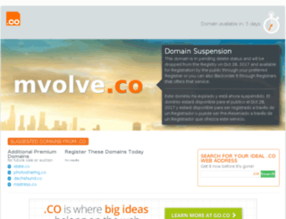 mvolve.co screenshot