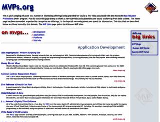 mvps.org screenshot