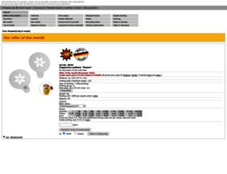 mvr-vertrieb.shop-website.de screenshot