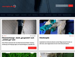 mvregio.de screenshot
