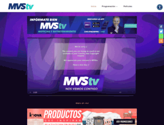 mvstelevision.com screenshot