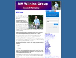 mvwilkinsgroup.com screenshot