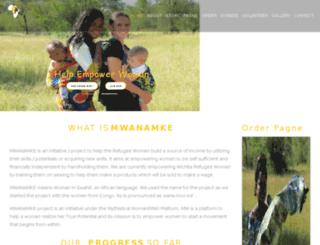 mwanamke.mythisticalwoman.com screenshot
