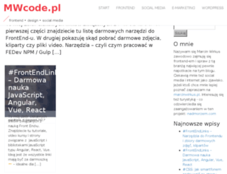 mwcode.pl screenshot