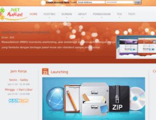mwdhost.net screenshot