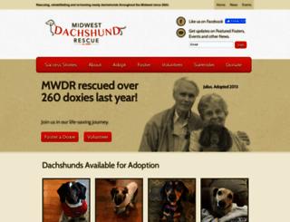 mwdr.org screenshot
