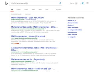 mwferramentas.net.br screenshot