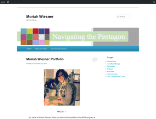 mwies1.edublogs.org screenshot