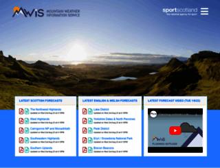 mwis.org.uk screenshot