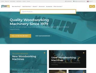 mwmachinery.co.uk screenshot