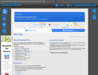 mwmsg.shoutwiki.com screenshot