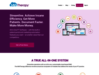 mwtherapy.com screenshot