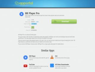 mx-player-pro.apportal.co screenshot