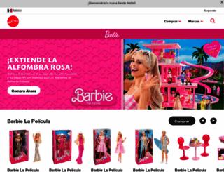 mx.barbie.com screenshot