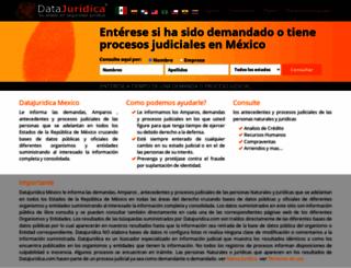 mx.datajuridica.com screenshot