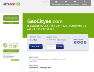 mx.geocityes.com screenshot