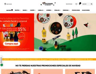 mx.loccitane.com screenshot